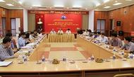 Hội nghị ban chấp hành Đảng bộ Bộ Văn hóa, Thể thao và Du lịch lần thứ 9
