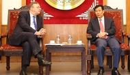 Bộ trưởng Nguyễn Ngọc Thiện tiếp Đại sứ Hung-ga-ri