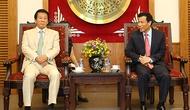 Bộ trưởng Nguyễn Ngọc Thiện tiếp Đại sứ đặc biệt Nhật - Việt, Việt - Nhật
