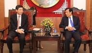 Bộ trưởng Nguyễn Ngọc Thiện tiếp Đại sứ Đặc mệnh toàn quyền Hàn Quốc tại Việt Nam