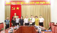 Công bố Quyết định về việc thay đổi nhân sự Hội Thư viện Việt Nam khóa III, nhiệm kỳ 2016-2021