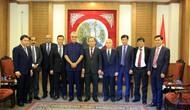 Thứ trưởng Lê Khánh Hải làm việc với Chủ tịch Liên đoàn bóng đá Châu Á