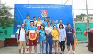 Giao lưu thể thao quyên góp ủng hộ đồng bào ảnh hưởng thiên tai lũ lụt