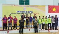Giải Bóng bàn các CLB Hà Nội mở rộng: 12 cá nhân, tập thể giành ngôi vô địch