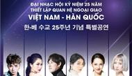 """""""Đêm hữu nghị Việt - Hàn"""": Kỷ niệm 25 năm thiết lập quan hệ ngoại giao Việt Nam - Hàn Quốc"""