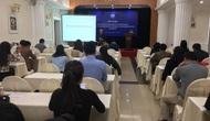 Tập huấn pháp luật và kỹ năng viết bài, tuyên truyền cho PV, cán bộ văn hóa thông tin các tỉnh có đường biên giới với Lào