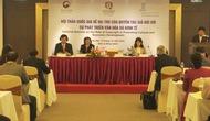 Tổ chức Hội thảo về quyền tác giả và làm việc với chuyên gia nước ngoài