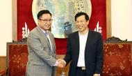 Bộ trưởng Nguyễn Ngọc Thiện gặp gỡ Tân Đại sứ Du lịch Việt Nam