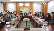 Thứ trưởng Vương Duy Biên tiếp Đoàn phóng viên Hàn Quốc