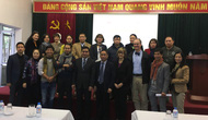 Bảo tàng Mỹ thuật Việt Nam tổ chức tập huấn tu sửa, phục chế tranh giấy nâng cao