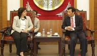 Bộ trưởng Nguyễn Ngọc Thiện tiếp Tân Đại sứ Cuba Lianys Torres Rivera