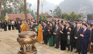 Sơn La: Khánh thành Nhà tưởng niệm Chủ tịch Hồ Chí Minh tại Thuận Châu