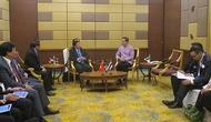 Bộ trưởng Nguyễn Ngọc Thiện tiếp xúc song phương với Bộ trưởng Du lịch và Thể thao Thái Lan