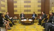 Bộ trưởng Nguyễn Ngọc Thiện gặp gỡ Hội đồng kinh doanh Hoa Kỳ-ASEAN