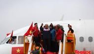 Đề nghị xác minh, làm rõ vấn đề liên quan đến chuyến bay chở Đội tuyển U23 Việt Nam về nước