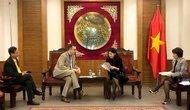 Phó Cục trưởng Cục Hợp tác quốc tế tiếp và làm việc với Tham tán văn hóa và hợp tác Pháp