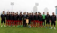 Đại sứ đặc mệnh toàn quyền Nhật Bản tại Việt Nam thăm đội tuyển U16 Quốc gia