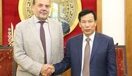 Đại sứ Chi-lê chào từ biệt Bộ trưởng Nguyễn Ngọc Thiện nhân kết thúc nhiệm kỳ công tác