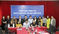Công đoàn Khối Di sản – Văn hóa cơ sở họp triển khai công tác công đoàn năm 2018