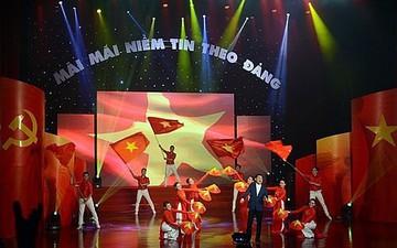 """Nhà hát Nghệ thuật Đương đại thực hiện chương trình nghệ thuật """"Mãi mãi niềm tin theo Đảng"""""""