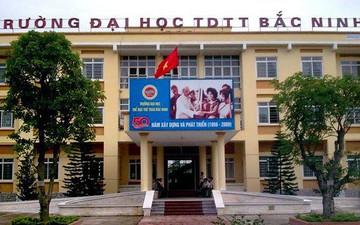 Trường ĐH Thể dục Thể thao Bắc Ninh tuyển 500 chỉ tiêu đại học chính quy năm 2019