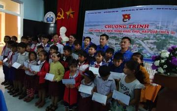 Đoàn Thanh niên Bộ VHTTDL hỗ trợ đồng bào miền Trung khắc phục hậu quả thiên tai