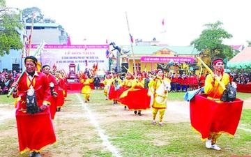 Di sản văn hóa phi vật thể quốc gia: Góp phần khẳng định bề dày truyền thống văn hóa xứ Thanh