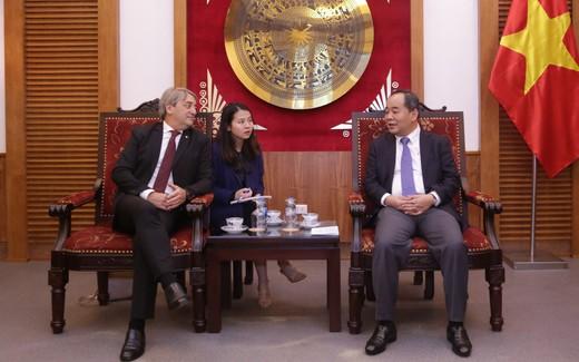 Thúc đẩy hợp tác trên lĩnh vực thể thao giữa Việt Nam - Uruguay