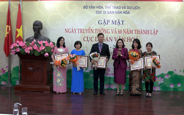 Gặp mặt ngày truyền thống và 60 năm thành lập Cục Di sản văn hóa (1959 – 2019)