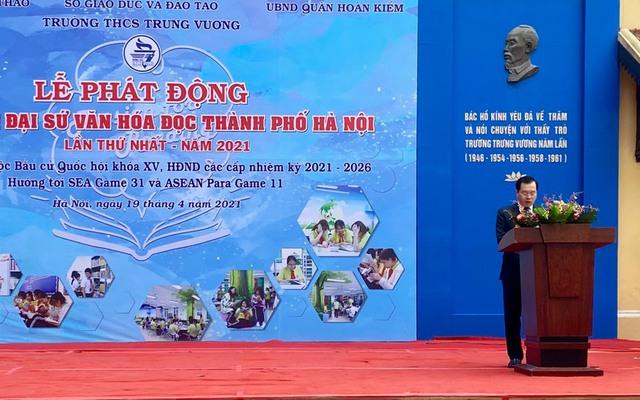 Phát động cuộc thi Đại sứ văn hóa đọc thành phố Hà Nội năm 2021