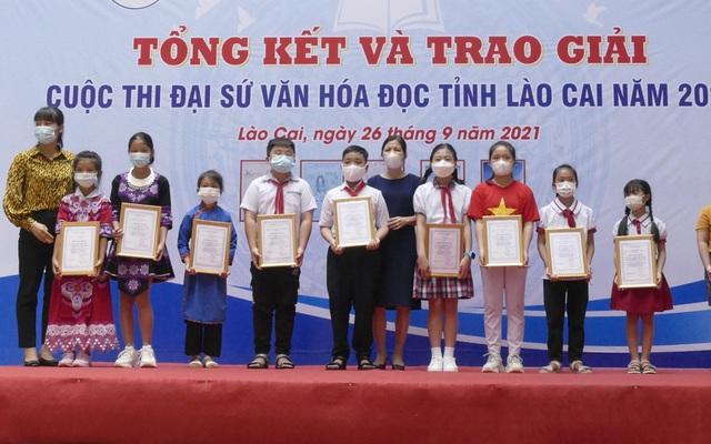 Trao giải Cuộc thi Đại sứ văn hóa đọc tỉnh Lào Cai năm 2021